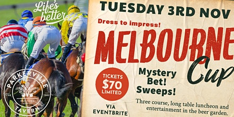 Melbourne Cup at The Parky tickets