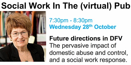Social Work In The (virtual) Pub with Prof Cathy Humphreys tickets