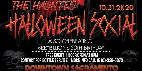 Haunted Halloween Social tickets
