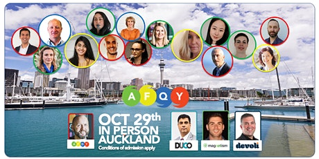 AFQY - OCT 29th - Auckland tickets