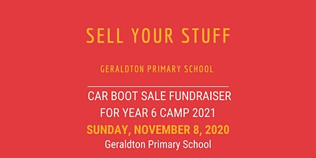 Geraldton Primary School Car Boot Sale Fundraiser tickets