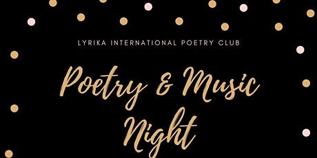Poetry and Music Night tickets
