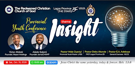 Provincial Youth Conference tickets