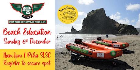 Beach Education @ Piha Surf Lifesaving Club tickets