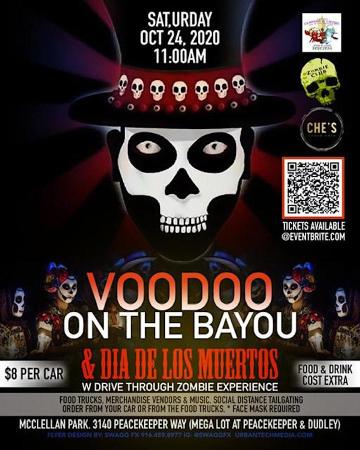 Voodoo on the Bayou & Dia de los Muertos $8 PER CAR advance $10 day of image