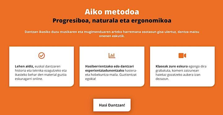 Imagen de Gonbidapenak/ Presentac´ión 2020 AIKO Dantza Eskola Digitala(Donostia - SS)