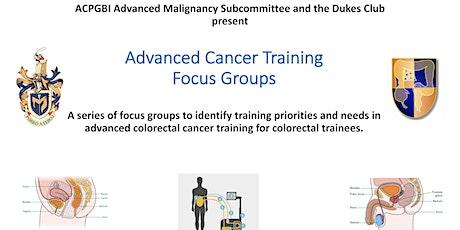 Advanced Cancer Training tickets