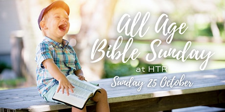 All Age Bible Sunday Service at HTR tickets