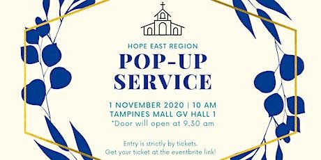 November East Region Pop-up Service