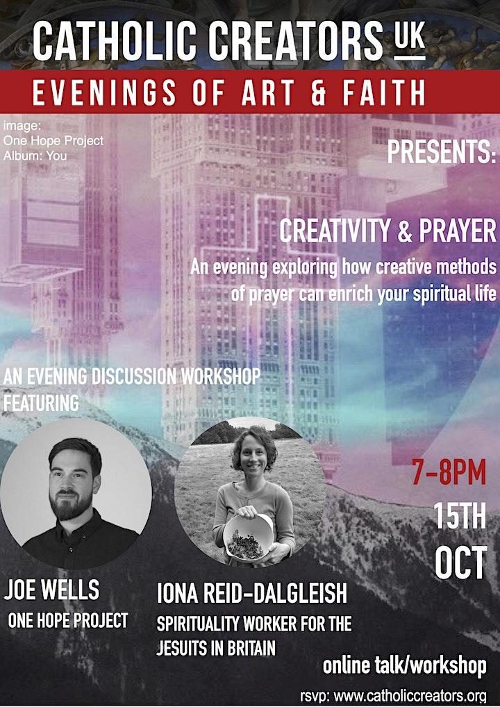 Workshop: Bringing Creativity Into Your Spiritual Life image