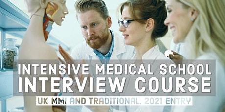 Medical School Interview Course | For Students Applying for Medicine (UK) tickets