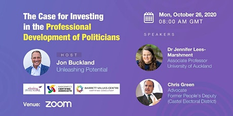 The case for Investing in the Professional Development of Politicians tickets