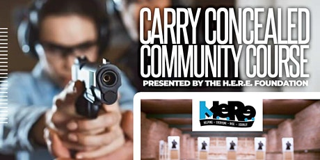 CONCEALED CARRY COURSE tickets