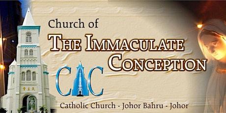 CIC JB English Mass tickets