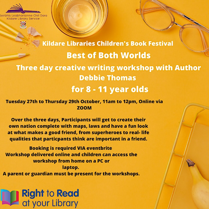 Creative Writing: Best of Both Worlds (8-11 year olds) image