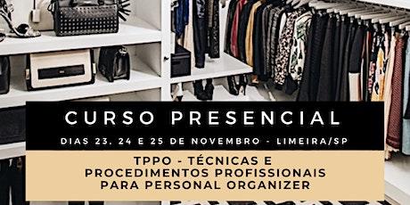 TPPO - Técnicas e Procedimentos Profissionais para Personal Organizer ingressos