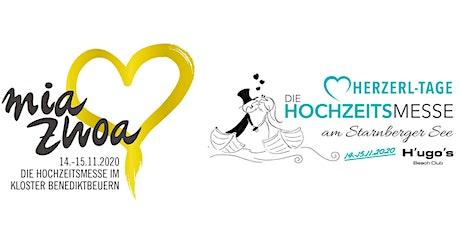 Hochzeitsmesse Mia Zwoa & Herzerl-Tage - Kombi-Ticket Tickets