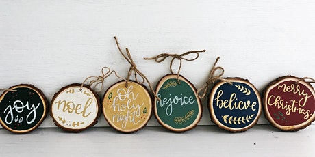 Faux Calligraphy Basics and Holiday Ornament Workshop tickets