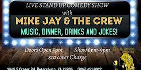 Friday October 23rd ~ A night of Music, Drinks, Dinner & Jokes tickets