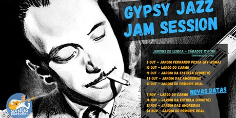 Gypsy Jazz Jam Session (at the Garden) ingressos