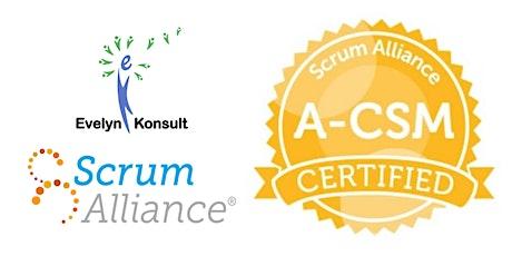 Advanced Certified ScrumMaster (A-CSM) tickets