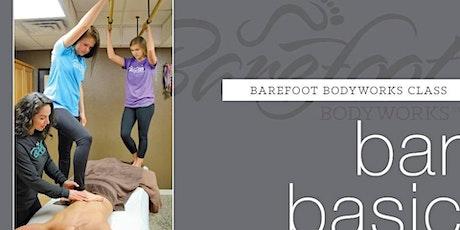 Ashiatsu Barefoot Massage Training Class Basic 18 CE AR & Ncbtmb tickets