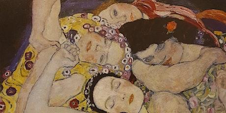 Klimt ONLINE dibujando con modelo vivo tickets
