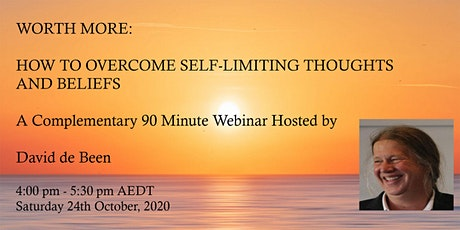 Worth More: How to Overcome Self-Limiting Thoughts and Beliefs tickets
