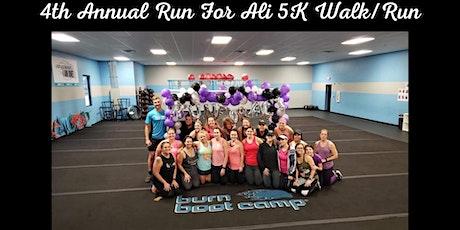 4th Annual Run For Ali 5K Run/Walk - Pensacola tickets