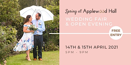 Spring at Applewood Hall - Wedding Open Evening tickets