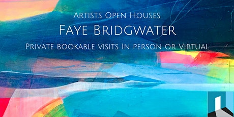 Faye Bridgwater - Private Bookable Online Visit - Artists Open House tickets