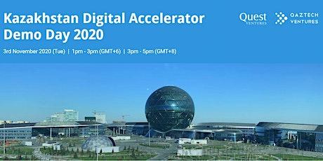 Kazakhstan Digital Accelerator Demo Day 2020 tickets