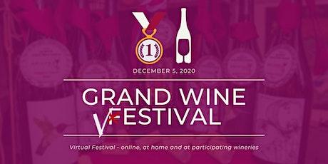 Grand Wine Vestival (virtual festival) tickets