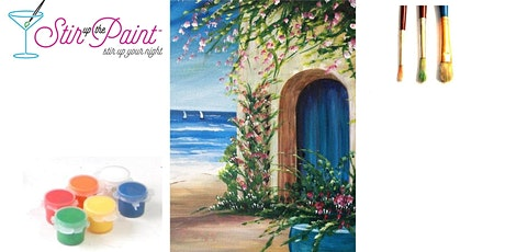 Home on the Beach In Person Live Painting Event 15 Person in Tacoma tickets