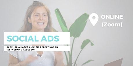 Social Ads: Cómo crear anuncios Efectivos en Instagram y Facebook entradas