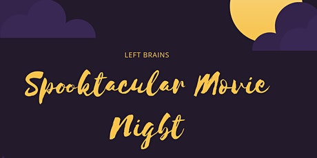 Spooktacular Virtual Movie Night tickets