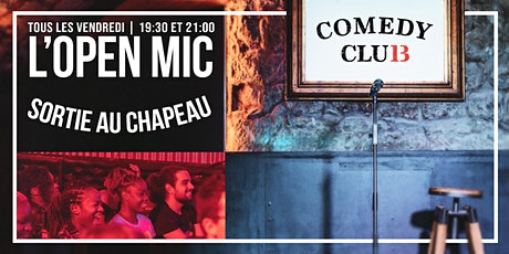 L'Open Mic de Lausanne 23 octobre billets