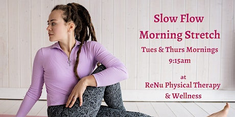 Slow Flow Morning Stretch tickets