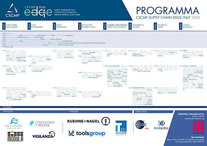 Immagine CSCMP Supply Chain Edge Italy 2020 - VIRTUALE e FISICO