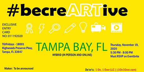 heyTAMPA-Creative Mindset Productions -Makers and Do'ers Pop Up Tour 2020 tickets