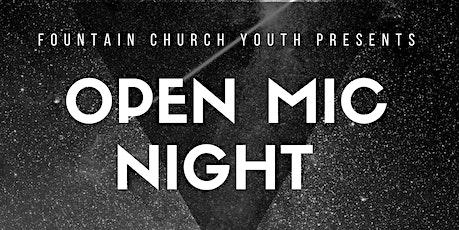 Open Mic Night October 2020 tickets