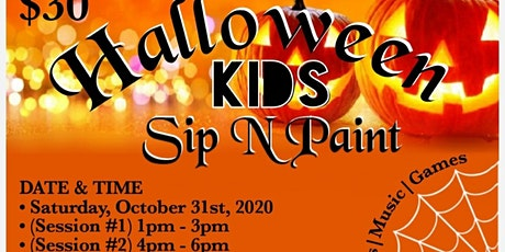 CSSBK Presents: Halloween KIDS Sip n Paint (all inclusive) tickets