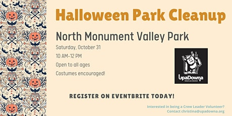 Halloween Park Cleanup tickets