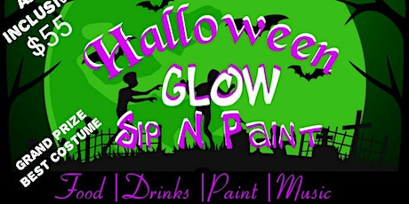 CSSBK Presents: Adult Halloween Costume GLOW N PAINT (all inclusive) tickets