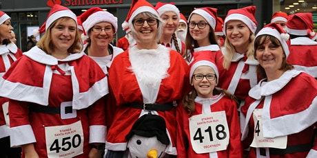 "Staines-upon-Thames ""Virtual"" Santa Fun Run 2020 tickets"