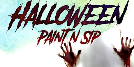 Halloween PaintnSip HTX tickets