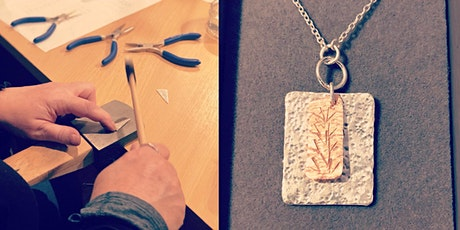 JEWELLERY: MAKE A SILVER PENDANT WORKSHOP tickets