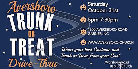 Aversboro Trunk or Treat Drive-Thru tickets