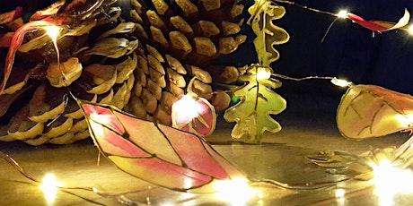 Silk Painted Woodland Lights Workshop tickets
