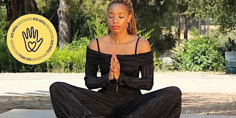 Black Velveteen Yoga Vinyasa Class tickets